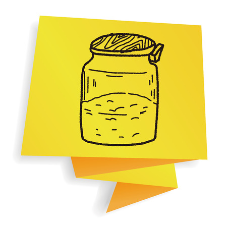 salt and pepper: salt pepper doodle Illustration