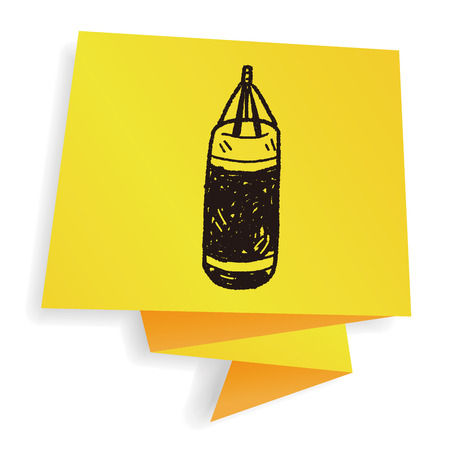 sandbag doodle
