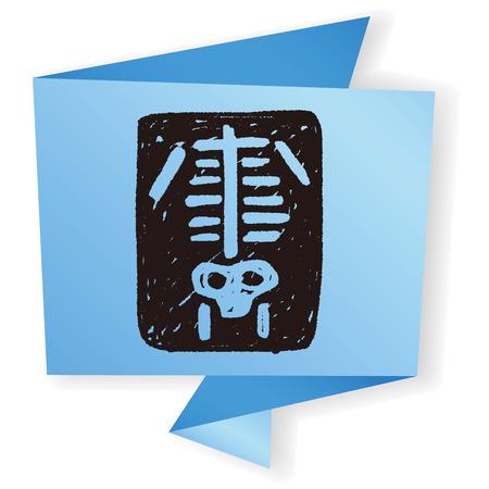 xray: x-ray doodle