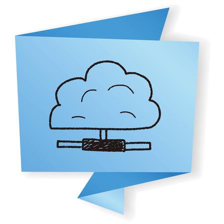 cloud: cloud doodle