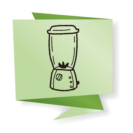 licuadora: doodle de la licuadora