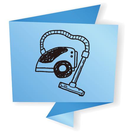 hoover: vacuum doodle