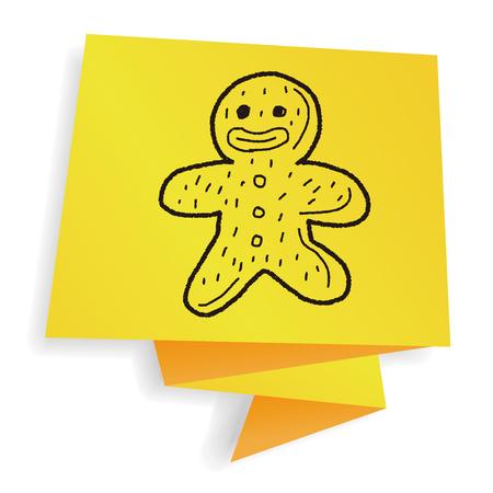 gingerbread man: Gingerbread Man doodle