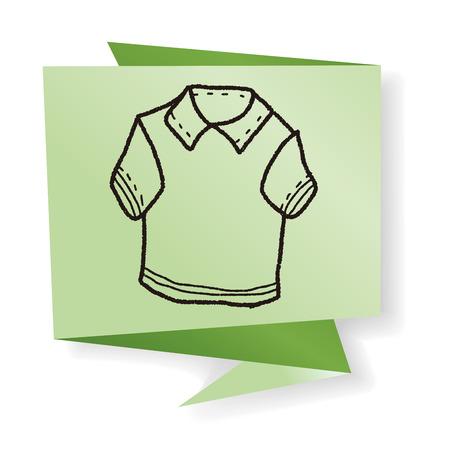 polo shirt: polo shirt doodle