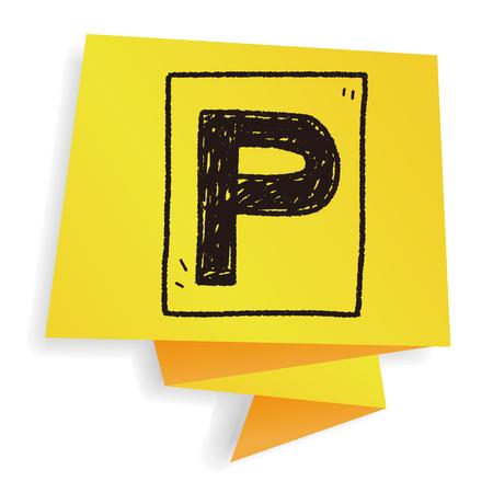 car park doodle
