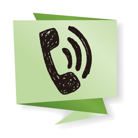 phone: Doodle phone
