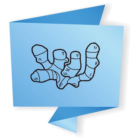ginger: Ginger doodle