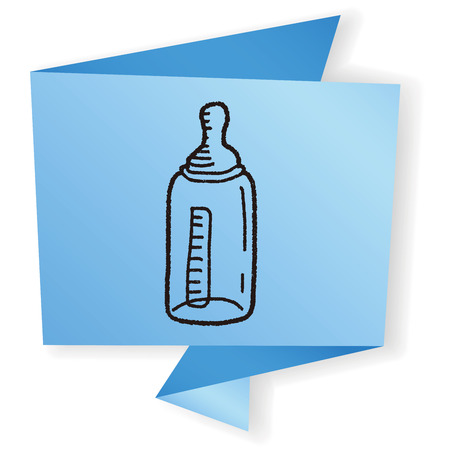 feeding bottle: Doodle Feeding bottle