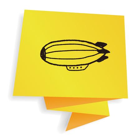 zeppelin: doodle zeppelin