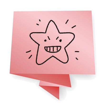 jewell: doodle star Illustration
