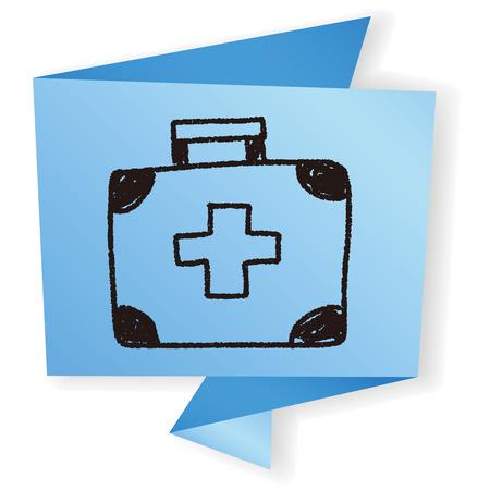 in case: medicine case doodle drawing