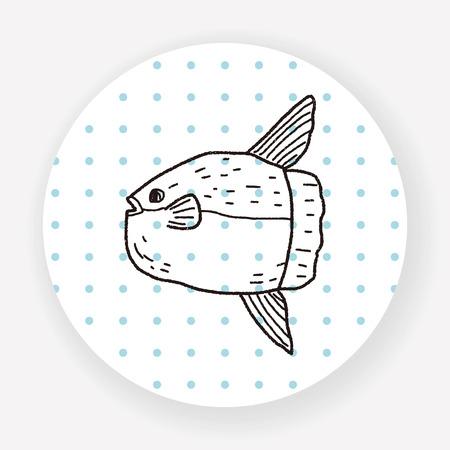 sunfish: Sunfish doodle