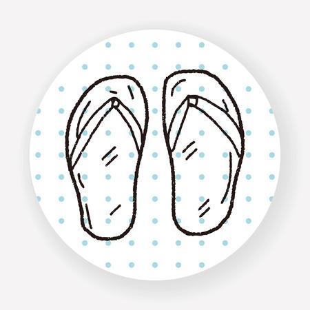flop: Flip flop doodle