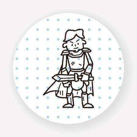 brave of sport: knight doodle