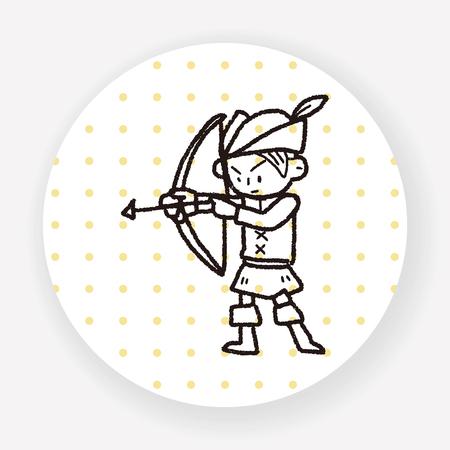 archer: archer doodle