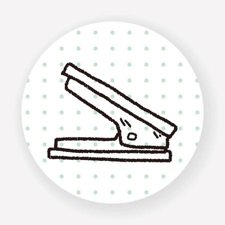 Stapler doodle