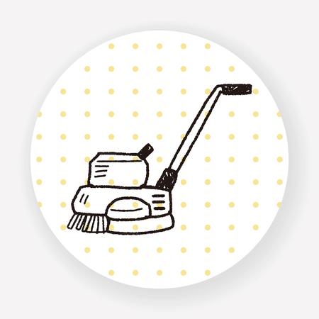 carpet clean: floor buffing machines doodle