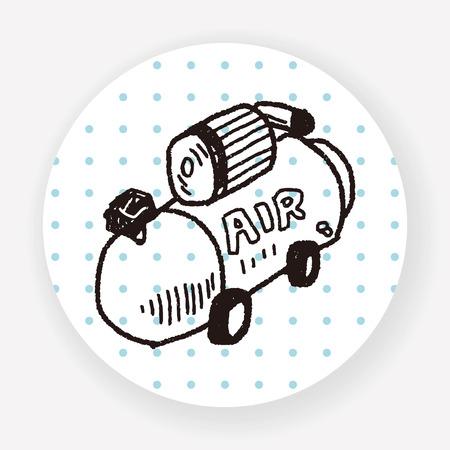 compressor: compressor doodle