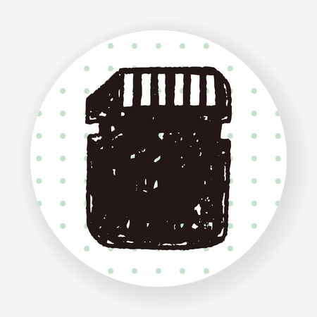 gigabyte: sd card doodle
