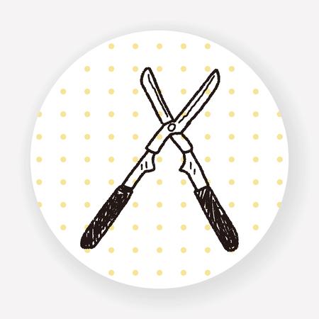 pruning: scissor doodle