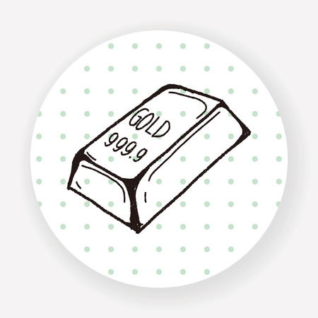 bullion: bullion doodle Illustration