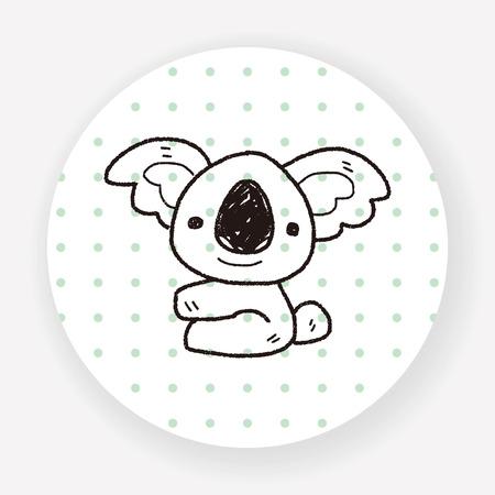 koala: koala garabato