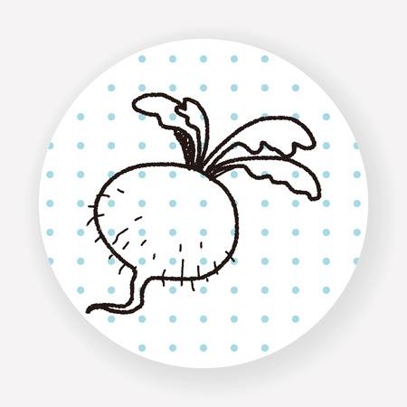 radish: Radish doodle