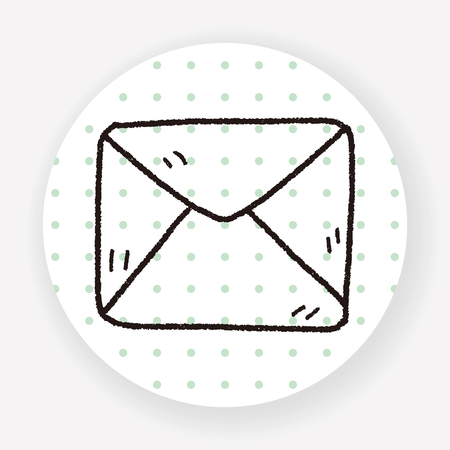 mail: Doodle Mail Illustration