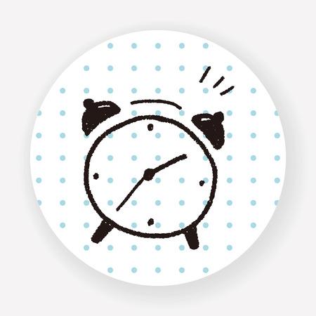 alarm clock: doodle alarm clock