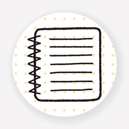 notebook: doodle notebook