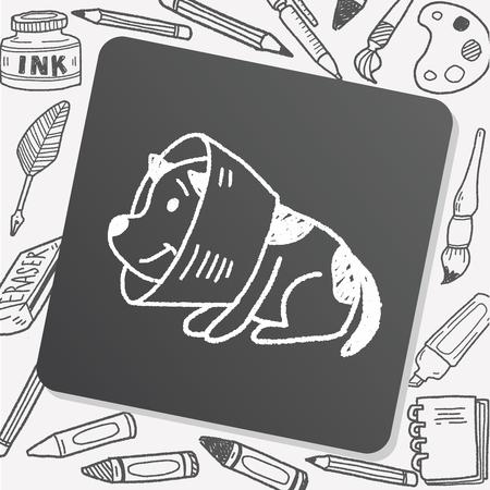 dog collar: doodle dog collar