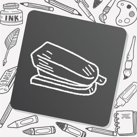 stapler: Doodle grapadora