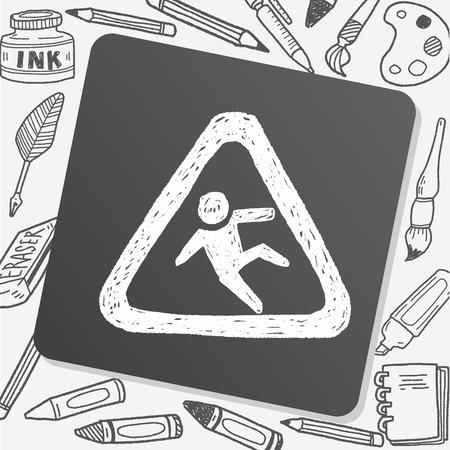 slip hazard: slip doodle