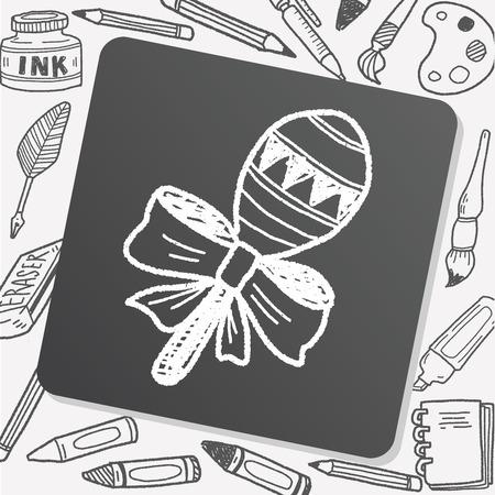 rattle: doodle rattle