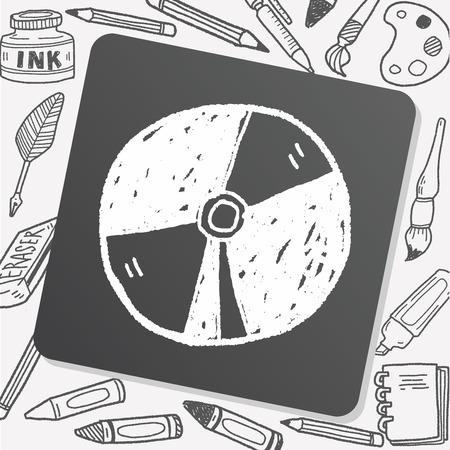 dvd case: dvd doodle Illustration