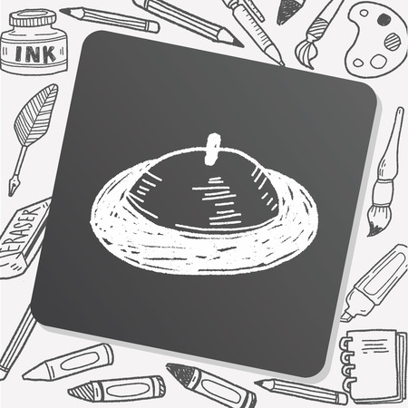 cover: food cover doodle Illustration