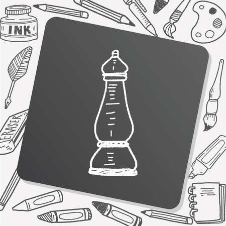 salt pepper: salt pepper doodle Illustration