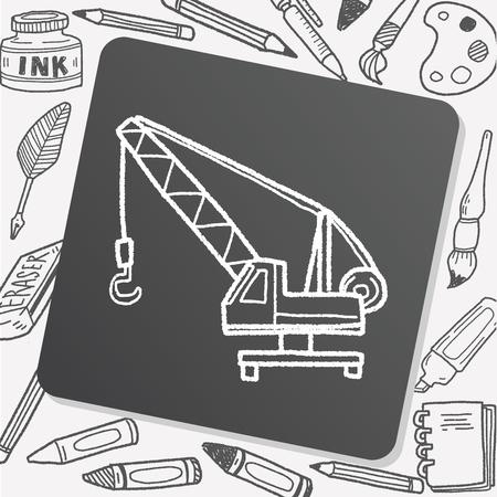 telescopic: Crane doodle