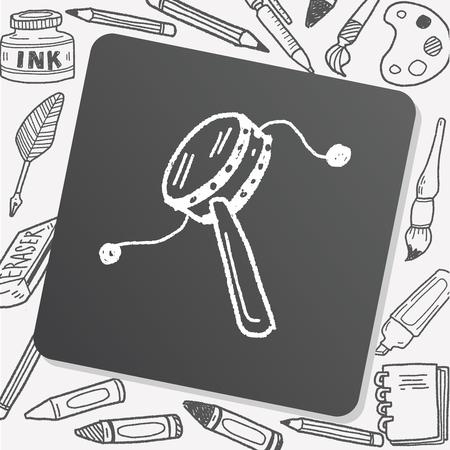 djembe: drum toy doodle