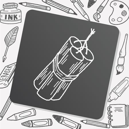 bomb: bomb doodle