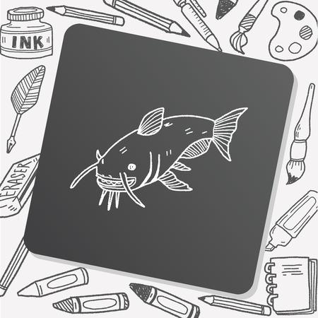 catfish: Catfish doodle