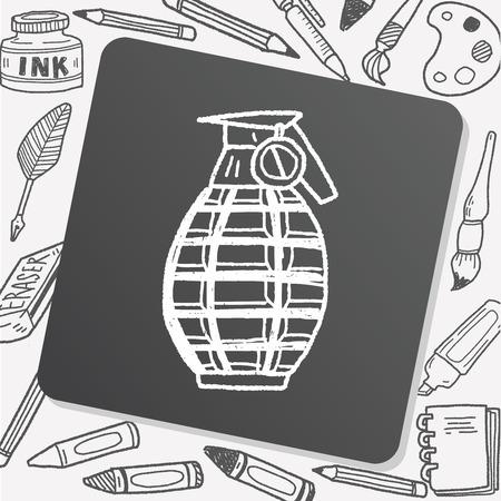 grenade: Grenade doodle