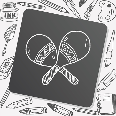 maracas: maracas doodle