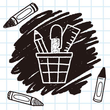 case: doodle pen case