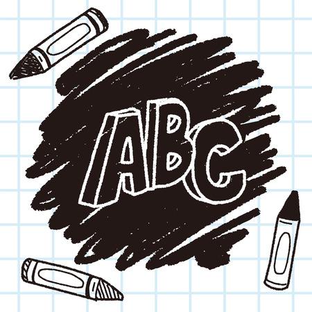 word: Doodle word