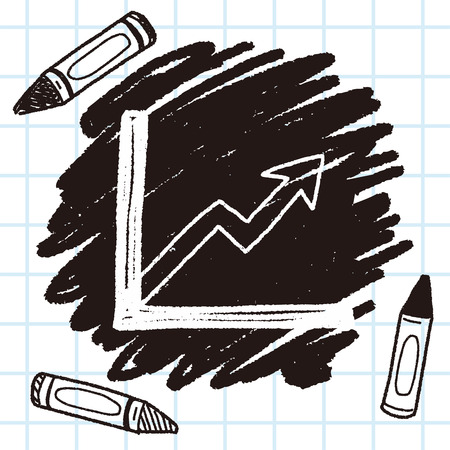 report form: Doodle Report form Illustration