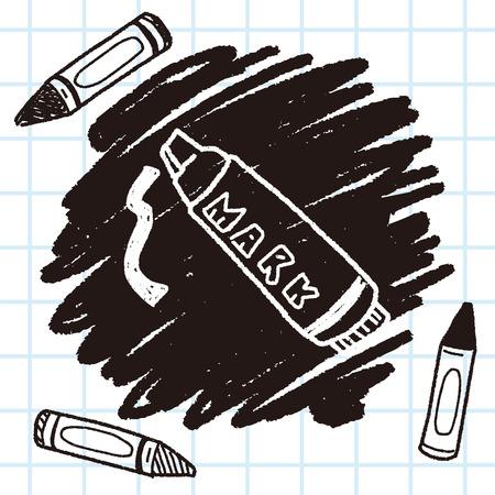 highlighter pen: doodle highlighter pen