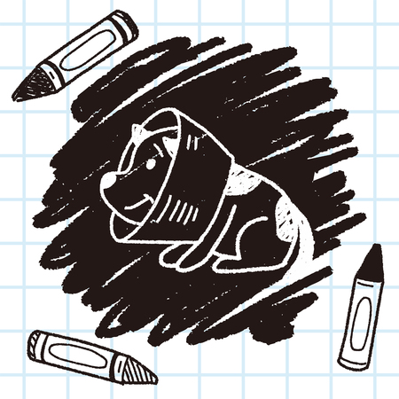diseased: doodle dog collar