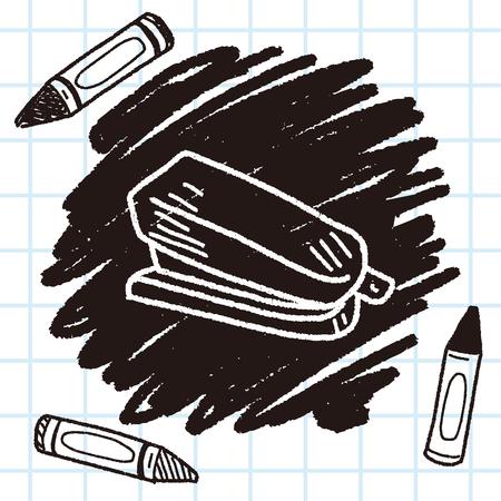 grapadora: Doodle grapadora