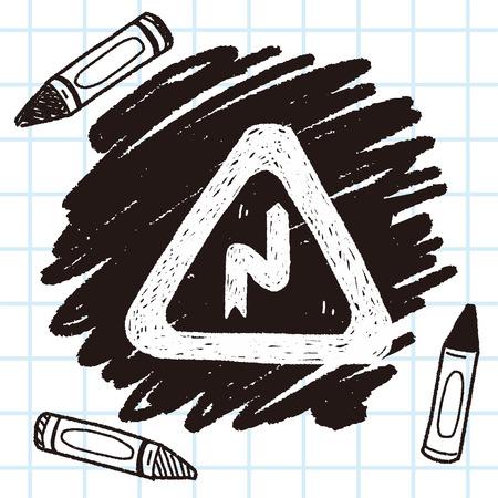 winding: Winding Road doodle